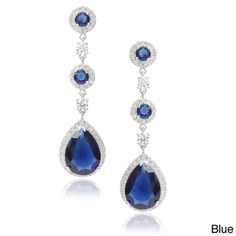 Journee Collection Cubic Zirconia Drop Earrings | Overstock™ Shopping - Top Rated Journee Collection Cubic Zirconia Earrings
