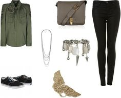 Ria Lindsay's stylebook at ShopStyle: Military Casual on shopstyle.co.uk