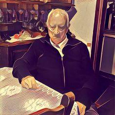 Il nonno non dorme mai... Il nonno riflette.
