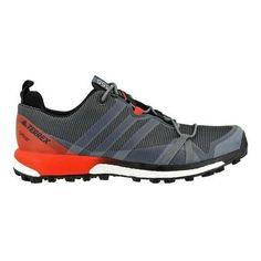 Men's adidas Terrex Agravic Gore-TEX Trail Running Shoe Vista Grey//Energy
