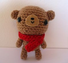 Little Teddy by anapaulaoli on Etsy, $22.00