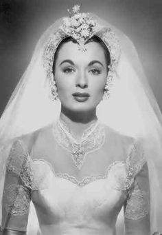 Picture of Ann Blyth Old Hollywood Stars, Old Hollywood Movies, Old Hollywood Glamour, Golden Age Of Hollywood, Vintage Hollywood, Classic Hollywood, Wedding Veils, Wedding Bride, Wedding Dresses