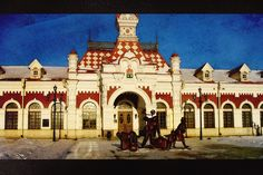 Old railway station in Yekaterinburg by Ӎѧҧ@Ҷҿ Ive been here!! <3