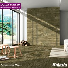 If unique, modern home buys are your thing, we know where your next investment should be. Bring home this beauty from our Digital 15X60 cm tiles to add natural charm to your interiors from the house of #KajariaCeramics