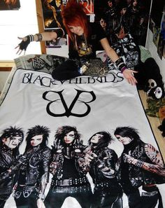 bvb i do want all of this xd black veil brides membersemo bedroombedroom ideasroom - Emo Bedroom Designs