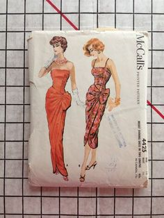 McCall's 4425 - Vintage Sarong pattern - eBay auction by nxiong87 ended April 16 2013 - winning bid was $72.88