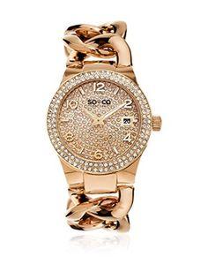 SO & CO New York Reloj de cuarzo Woman GP15563 38 cm