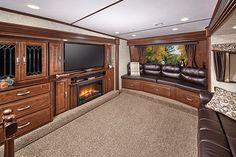 New 2012 dutchmen infinity fifth wheel trailer for sale in - Dutchmen infinity front living room ...