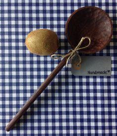 Handmade wooden walnut serving spoon by Timmythewoodman on Etsy https://www.etsy.com/listing/231449670/handmade-wooden-walnut-serving-spoon