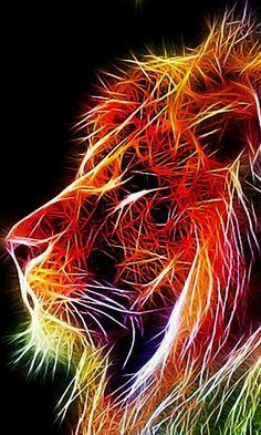 Neon Leo- Side View