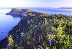 Parc National de Forillon en Gaspésie, Québec