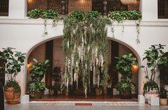 Back in Black: A Modern + Cool Wedding Photography: EP Love // venue name: Ebell of Long Beach, Long Beach, California, USA // event design: The Joy Parade // planning: The Joy Parade // florals: Of The Flowers // wedding dress: Sarah Seven // wedding dress boutique: Sarah Seven LA Salon