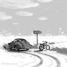 DATTARAJ KAMAT Animation art: A quick sketch...