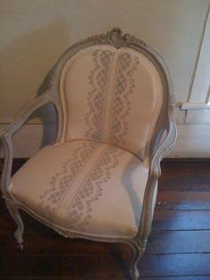 French Chair by farmhousetohome on Etsy, $215.00