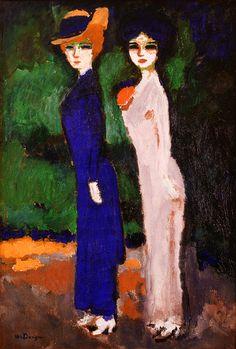 Kees Van Dongen, Les deux Parisiennes (Le sentier de la vertu) , c. 1907