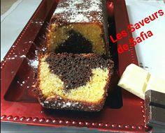 Cake marbré au 2 chocolats   Recette facebook   #Les Saveurs de Safia#