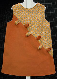 Matilda Dress.  Not crazy about the colors but like the button embellishments.