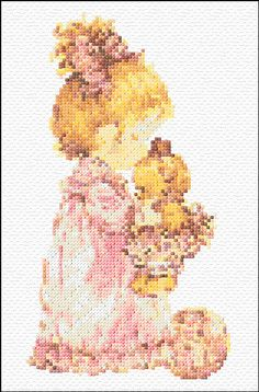 Cross Stitch | Sarah Kay xstitch Chart | Design