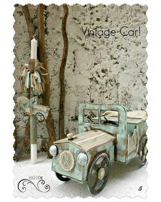 Βαπτιστικό σετ Vintage car  ΤΟ ΣΕΤ ΠΕΡΙΛΑΜΒΑΝΕΙ:   Κουτί αυτοκίνητο Διαστάσεις: 88Χ35Χ45 εκ ΛΑΜΠΑΔΑ ΚΑΛΟΓΕΡΟ ΣΕΤ ΛΑΔΟΠΑΝΑ( 2 ΠΕΤΣΕΤΕΣ, ΣΕΝΤΟΝΙ, ΣΕΤ ΕΣΩΡΟΥΧΑ - ΚΑΠΕΛΑΚΙ) ΜΠΟΥΚΑΛΑΚΙ ΣΑΠΟΥΝΑΚΙ 3 ΚΕΡΑΚΙΑ ΚΟΛΥΜΠΗΘΡΑΣ   * Οι τιμές πάνω στη φωτογραφία αφορούν μεμονομένα τεμάχια