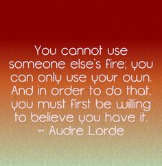 Find the fire within!