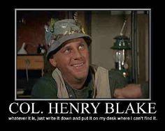 Col Henry Blake