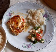 Co dziś na obiad? Kurczak z fetą i pomidorami Chicken with feta and tomatoes