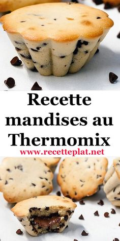 Here is a little gourmet thermomix recipe that is very simple to make: mandella stuffed with nutella like Mc Do but much better (obviously ^^) and als Easy Easter Desserts, Quick Dessert Recipes, Quick Easy Desserts, Easy Cake Recipes, Lemon Desserts, Mini Cheesecake Recipes, Thermomix Desserts, Mc Do, Baking