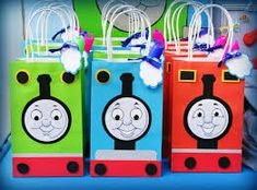 Image result for thomas the tank engine party table decorations