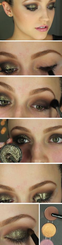 Dramatic Metalic | Awesome Prom Makeup Ideas Full Face | DIY New Years Eve Makeup Looks Eyeshadows