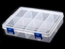 Plastový zásobník  13,5x20x4,6 cm