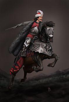 Vlad the Impaler by on DeviantArt Vlad El Empalador, Vlad The Impaler, Dracula Untold, Horse Armor, Bravest Warriors, Medieval World, Creatures Of The Night, Photo Canvas, Fantasy Characters