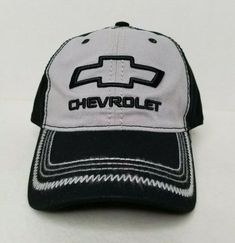 CHEVROLET CHEVY LIGHT BLUE//WHITE MESH HAT CAP WITH WHITE LOGO NEW