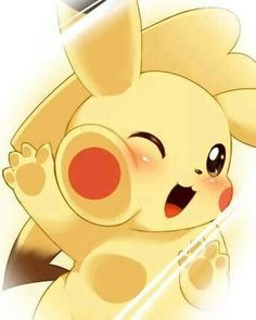 My Pikachu! My partner at the beginning, and I can always rely on my pikachu to go all out and stay strong in pokemon battles, and we see many things together. My pikachu is a level and she's a female pikachu as well! Love my pikachu with all my l Pikachu Pikachu, Pokemon Go, Pikachu Mignon, Female Pikachu, Pikachu Funny, Pokemon Fusion, Pokemon Cards, Anime Lock Screen, Lock Screen Wallpaper