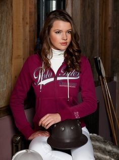 #hvpolo #reitsport Sweatjacke Shona (auch in navy) #equestrian #clothing
