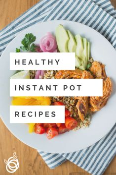 Learn tips to make meal prep easier with an Instant Pot. Plus a round-up of Paleo and Instant Pot Recipes. Healthy Dinner Recipes, Vegetarian Recipes, Different Vegetables, Easy Meal Prep, Instant Pot Pressure Cooker, Slow Cooker Recipes, Family Meals, Meal Planning, Good Food