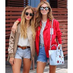 Last day in LA with my little sister @valentinaferragni and I'm about to cry her goodbye  #TheBlondeSaladGoesToHollywood