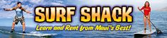 Maui Surfing Lessons: Surf School, Surfboard Rentals, Stand Up Paddle Board Lessons and Rentals, Maui