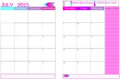 2015 to 2016 Academic Year Around School – 2 Page Spread Appointment Keeper