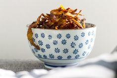 Keittiö ja kolme kerrosta: Perunankuorisipsit