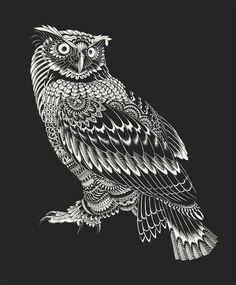 Ornate Owl by BioWorkZ