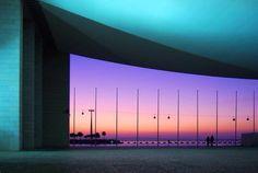 Portuguese Pavilion (Nations Park) - Sunset in Lisboa - II ----------  Pavilhão de Portugal (Parque das Nações) - Por-do-sol em Lisboa - II