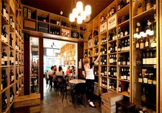 The Gertrude Street Enoteca is a wine shop and wine bar created by chef/food writer/farmer Brigitte Hafner with wine importer/architect/photographer James Broadway. Melbourne Bars, Melbourne Travel, Fitzroy Place, Wine Shop Interior, Retail Architecture, Walkabout, New Shop, Restaurant Design, Tents