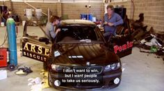 I do take you very seriously, Richard! Except that your door says Arse and Jeremy's says penis... #TopGear