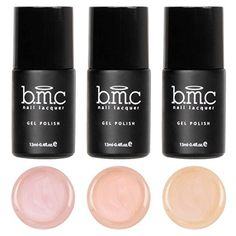 BMC 3pc Cream Finished Nude Colored Gel Lacquer Polishes  Au Naturel Collection * Be sure to check out this awesome product.Note:It is affiliate link to Amazon.