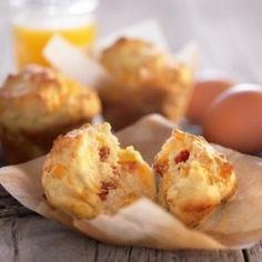Bacon and Egg Breakfast Muffins Printable Recipe
