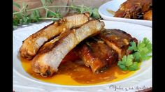 Cómo hacer costillas en salsa barbacoa | Receta de costillas a la barbacoa Sausage, Pork, Beef, Chicken, Youtube, Get Lean, Bbq Ribs, Baked Ribs, Rib Recipes