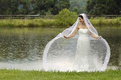 Veils make beautiful heirloom items to wear again. veil idea