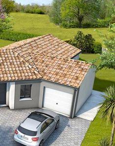 Plan maison moderne Bleuet - maison familiale Maisons Clair Logis Outdoor Furniture, Outdoor Decor, Outdoor Storage, Garage, Shed, Outdoor Structures, Plans, Lisa, Home Decor
