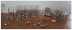 Online veilinghuis Catawiki:   Lot Silver Plate uit de jaren 60 Douwe Egberts