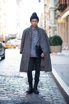 Massive coat envy. The oversized coat is a favourite of mine this season.